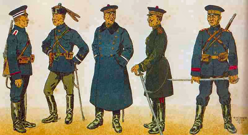 Uniforms of 1917